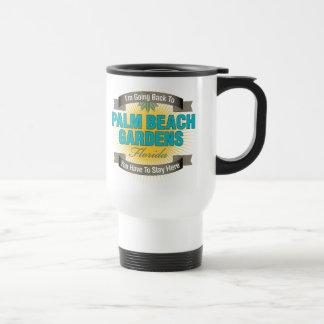 I'm Going Back To (Palm Beach Gardens) 15 Oz Stainless Steel Travel Mug