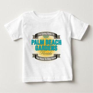 I'm Going Back To (Palm Beach Gardens) Baby T-Shirt