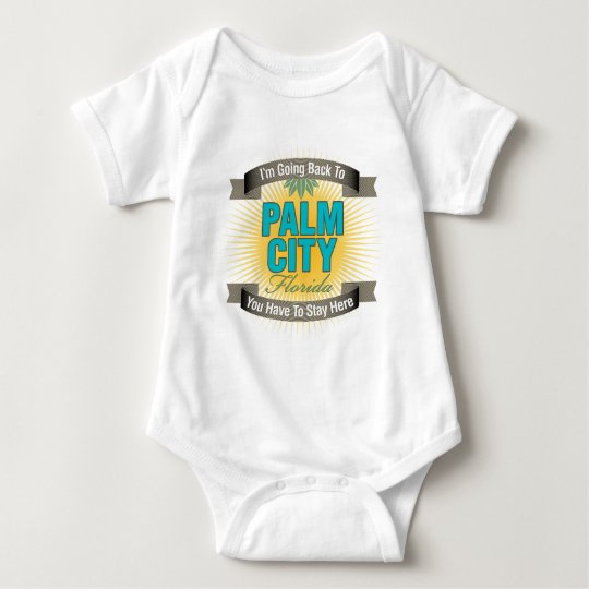 I'm Going Back To (Palm City) Baby Bodysuit
