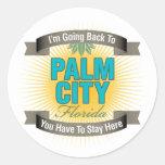 I'm Going Back To (Palm City) Sticker