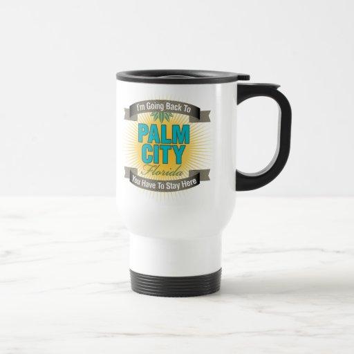 I'm Going Back To (Palm City) Travel Mug