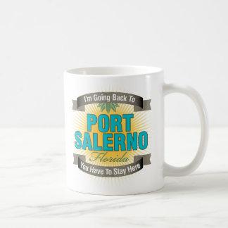 I'm Going Back To (Port Salerno) Classic White Coffee Mug