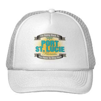 I'm Going Back To (Port St. Lucie) Trucker Hat