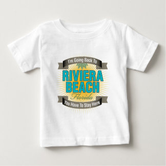 I'm Going Back To (Riviera Beach) Baby T-Shirt