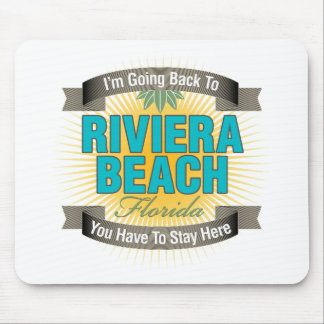 I'm Going Back To (Riviera Beach) Mouse Pad