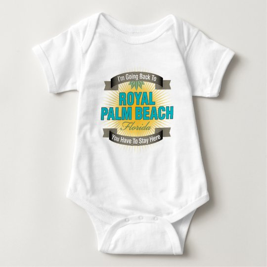 I'm Going Back To (Royal Palm Beach) Baby Bodysuit