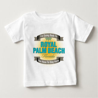 I'm Going Back To (Royal Palm Beach) Baby T-Shirt