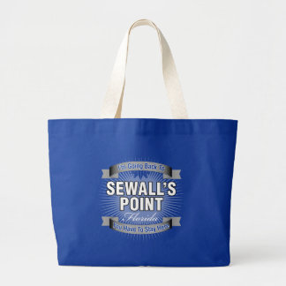 I'm Going Back To (Sewall's Point) Large Tote Bag