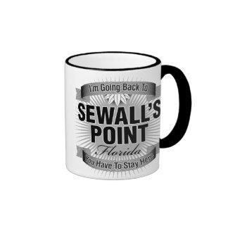 I'm Going Back To (Sewall's Point) Ringer Coffee Mug