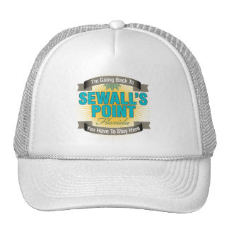 I'm Going Back To (Sewall's Point) Trucker Hat