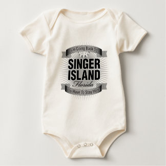 I'm Going Back To (Singer Island) Baby Bodysuit