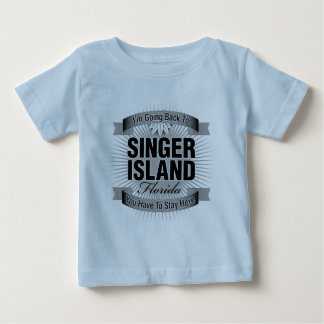 I'm Going Back To (Singer Island) Baby T-Shirt