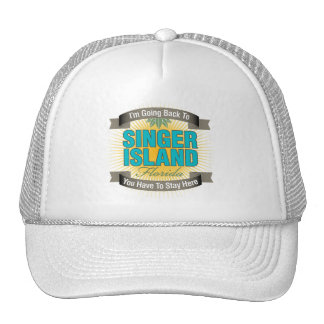 I'm Going Back To (Singer Island) Hats