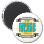 I'm Going Back To (Singer Island) Refrigerator Magnets