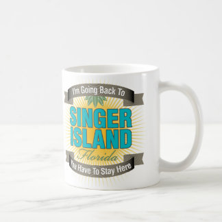 I'm Going Back To (Singer Island) Classic White Coffee Mug