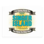 I'm Going Back To (Singer Island) Postcard