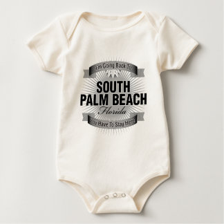 I'm Going Back To (South Palm Beach) Baby Bodysuit