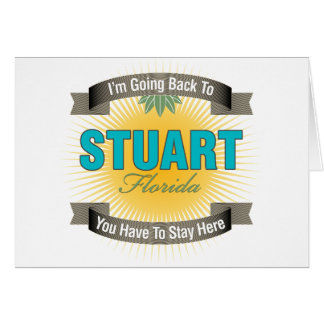 I'm Going Back To (Stuart) Card