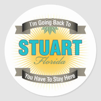 I'm Going Back To (Stuart) Stickers