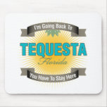 I'm Going Back To (Tequesta) Mouse Pad