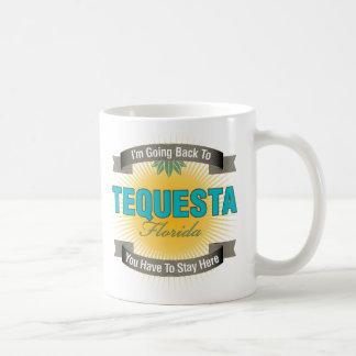 I'm Going Back To (Tequesta) Classic White Coffee Mug