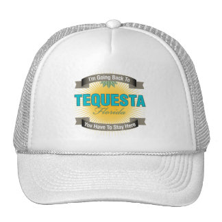 I'm Going Back To (Tequesta) Trucker Hats