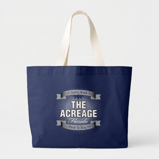 I'm Going Back To (The Acreage) Jumbo Tote Bag