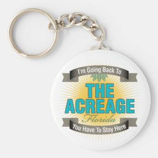 I'm Going Back To (The Acreage) Keychain