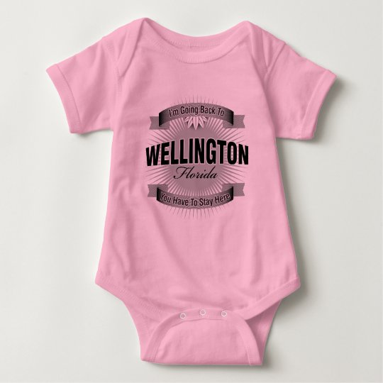 I'm Going Back To (Wellington) Baby Bodysuit