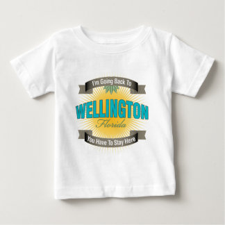 I'm Going Back To (Wellington) Baby T-Shirt