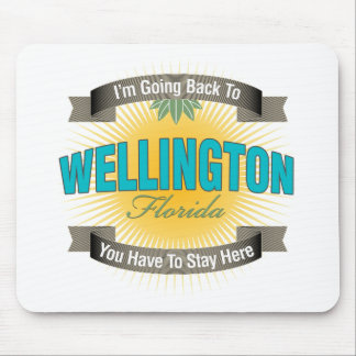 I'm Going Back To (Wellington) Mouse Pad