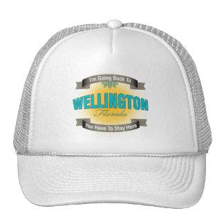 I'm Going Back To (Wellington) Trucker Hat