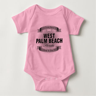 I'm Going Back To (West Palm Beach) Baby Bodysuit