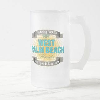 I'm Going Back To (West Palm Beach) Coffee Mugs