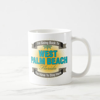 I'm Going Back To (West Palm Beach) Mugs