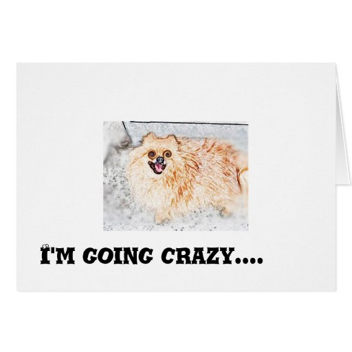 , I'm going crazy.... card