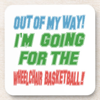 I'm going for the Wheelchair Basketball. Beverage Coaster