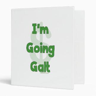 I'm Going Galt 3 Ring Binder