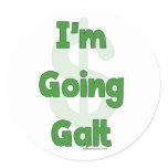 I'm Going Galt Classic Round Sticker