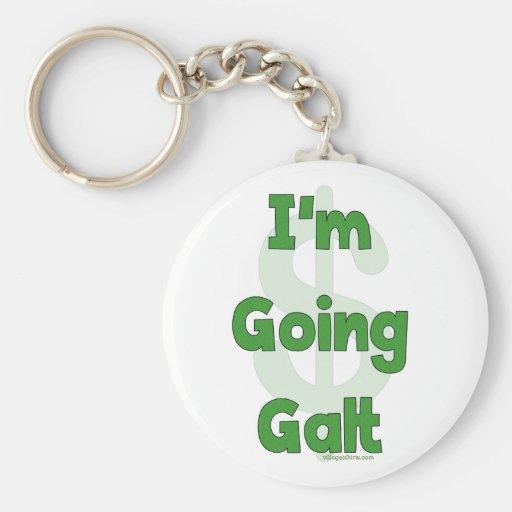 I'm Going Galt Keychain