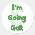 I'm Going Galt Round Sticker
