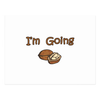 I'm Going Nuts Postcard