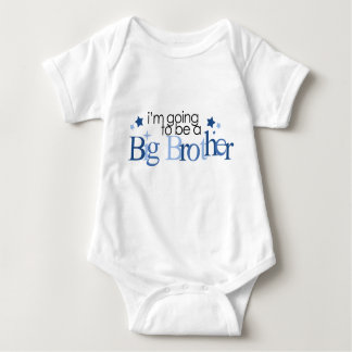 """""""I'm Going To Be A Big Brother"""" Baby Bodysuit"""