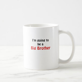 Im Going to be a Big Brother Classic White Coffee Mug
