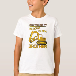 Im going To be a Big Brother Construction Shirt