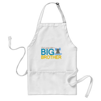 I'm Going to be a Big Brother Elephant Adult Apron