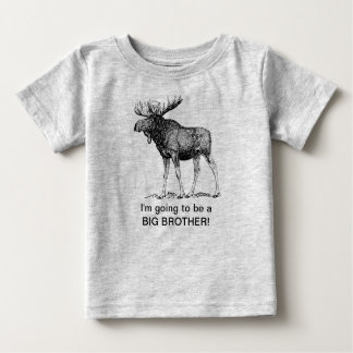 I'm going to be a big brother!! (MOOSE) T-shirts