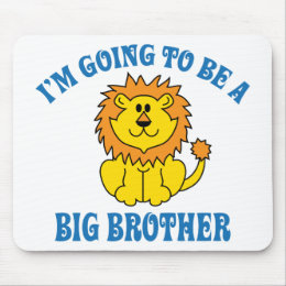 I'm Going To Be A Big Brother Mouse Pad