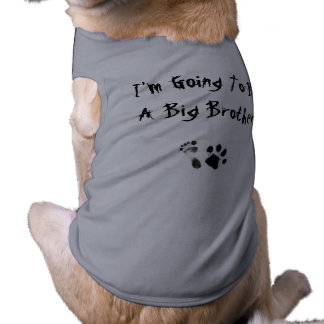 Im going to be a big brother - pet tee shirt