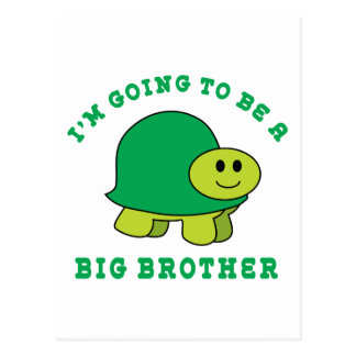 I'm Going To Be A Big Brother Postcard